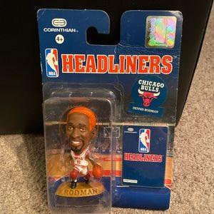 New York Bulls Dennis Rodman Headliners